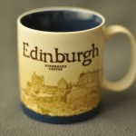 Starbucks Edinburgh Mug front