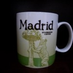 Starbucks Madrid mug front